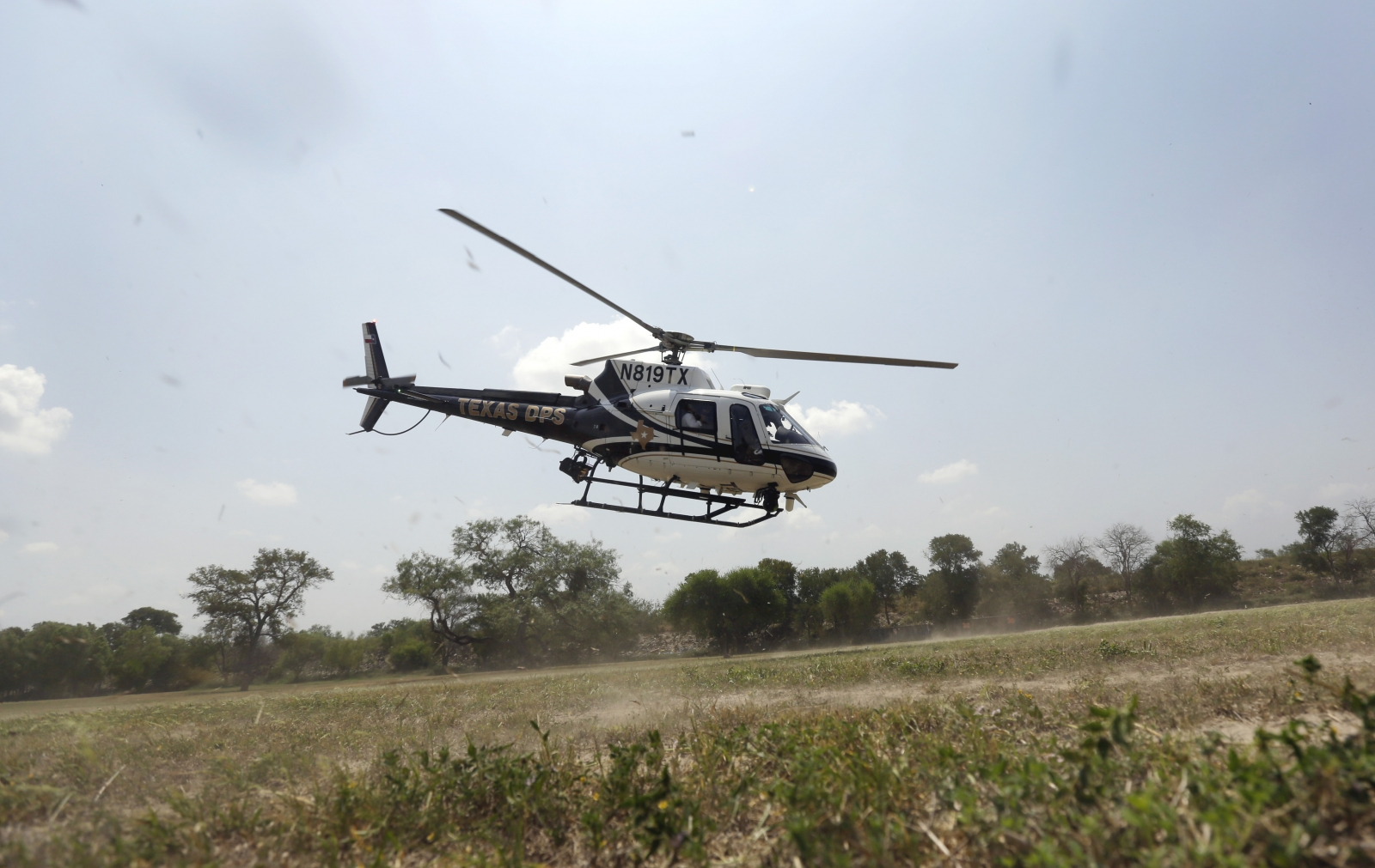 US border patrol helicopter