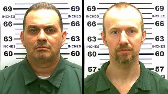 Richard Matt, 48, and David Sweat, 34