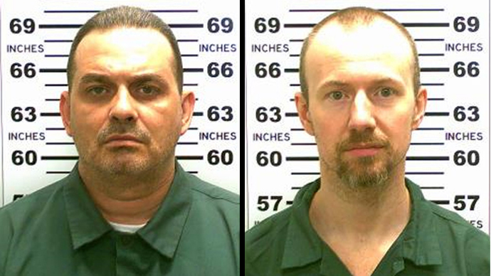 Richard Matt, 48, and David Sweat, 34