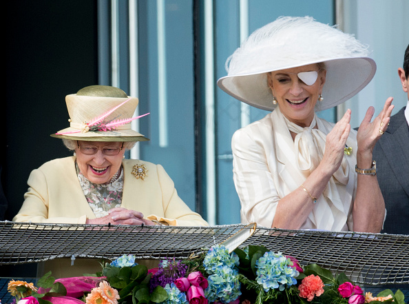 Queen Elizabeth and Princess Michael