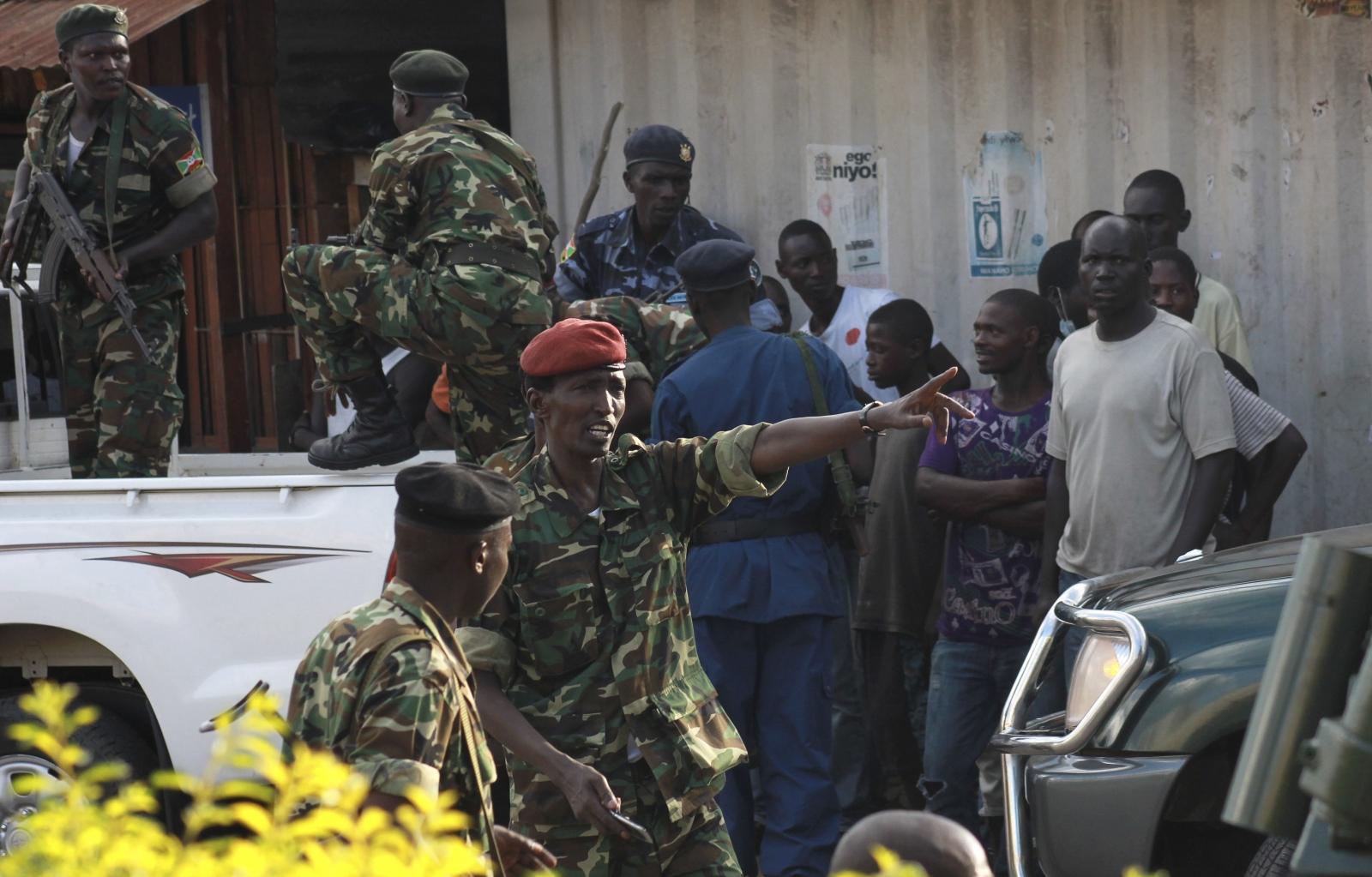 Burundi General Cyrille Ndayirukiye