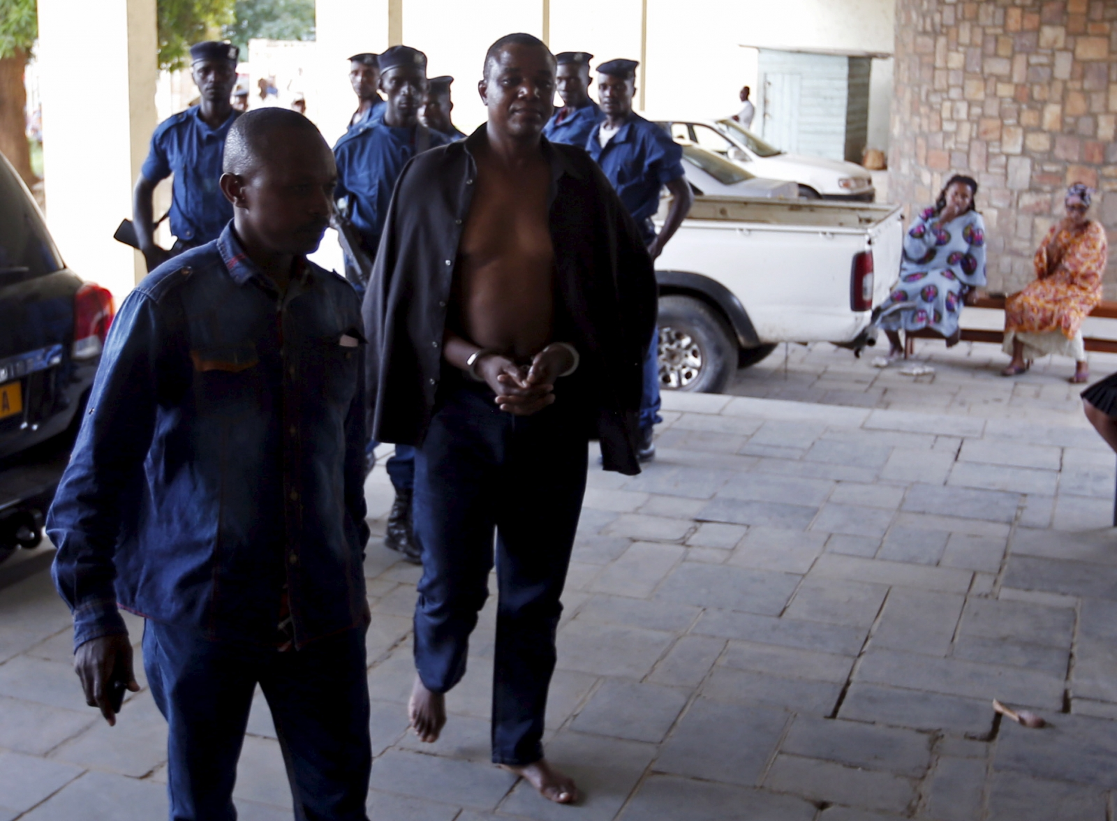 Burundi coup leaders arrest