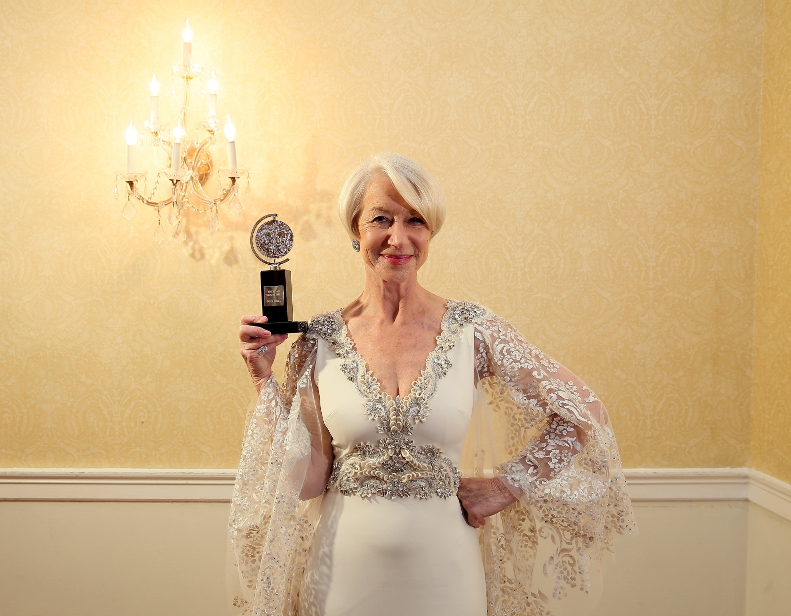 Helen Mirren at Tony Awards 2015
