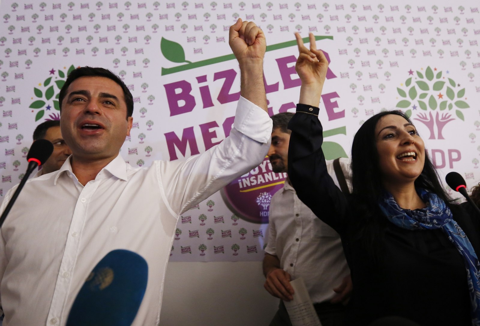 HDP leaders Turkey elections