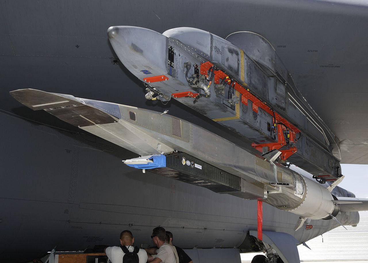 The X-52 WaveRider hypersonic test flight vehicle