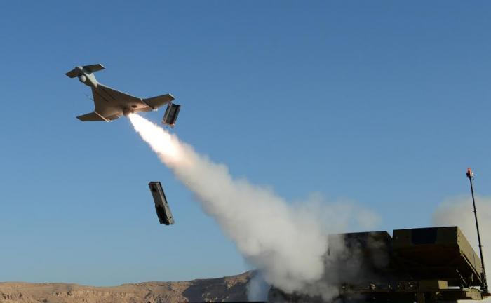 HAROP loitering munitions system hovers before self-destructing
