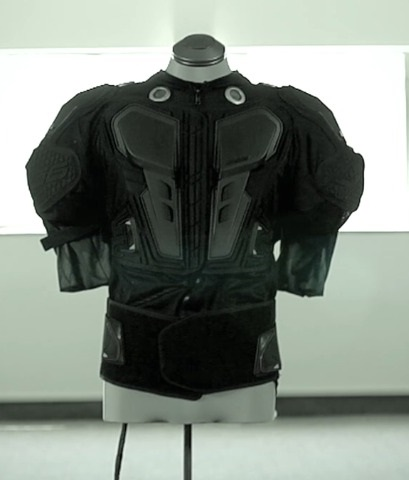 haptic feedback suit virtual reality