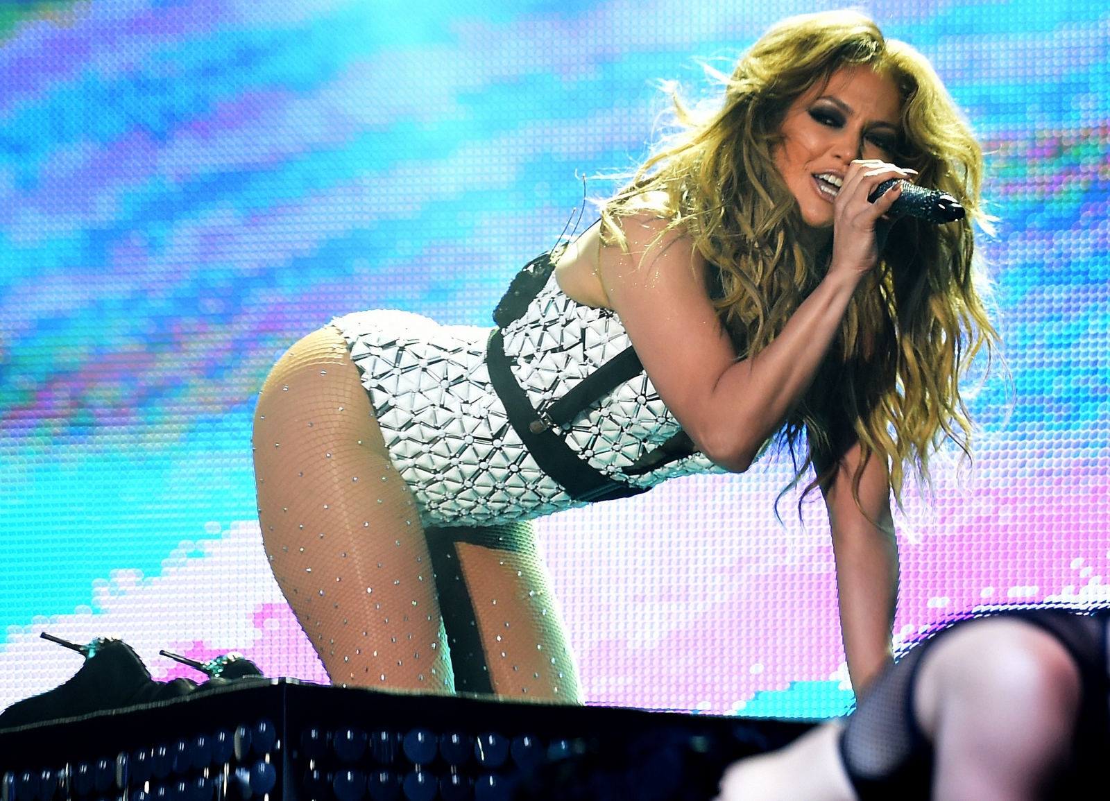 Jennifer Lopez performs at the Mawazine festival