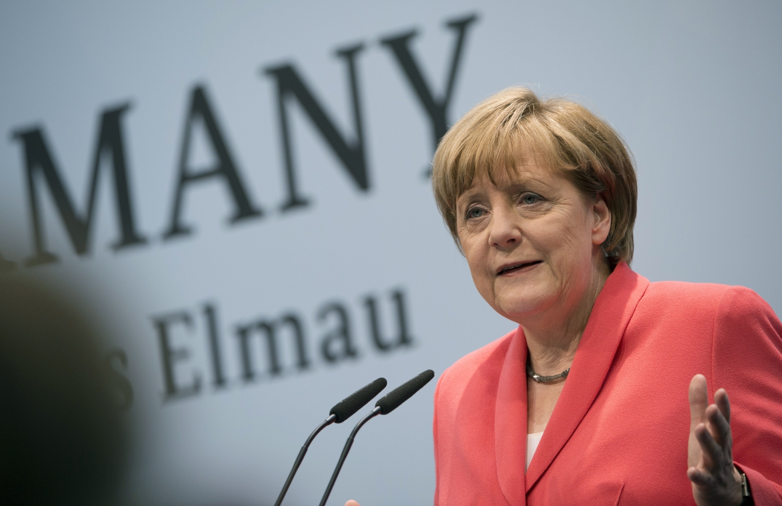 Angela Merkel at the G7