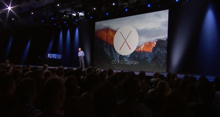 Mac OS X El Capitan 10.11.1