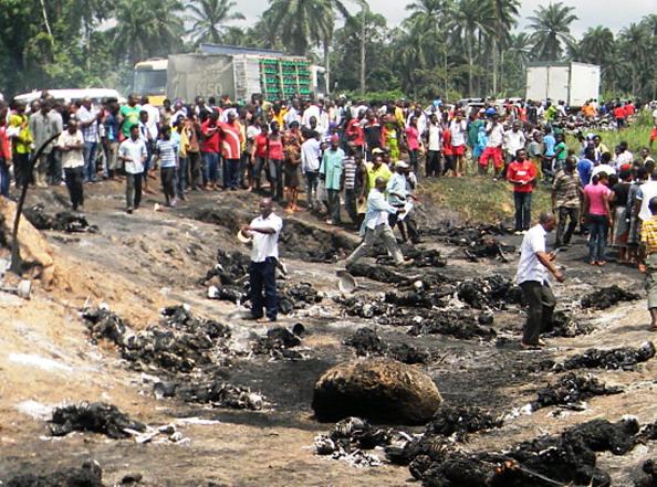 Nigeria oil tanker explosion