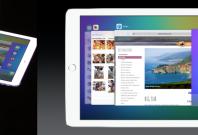iOS 9 on iPad with app switcher