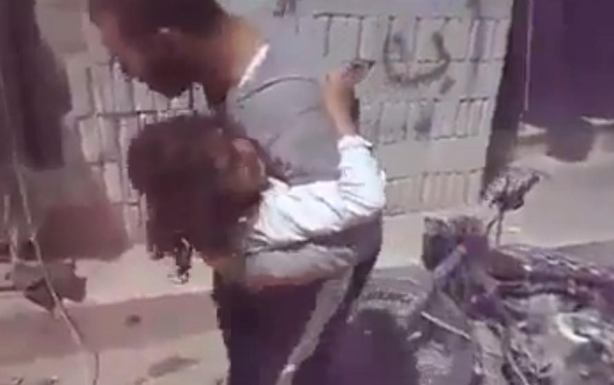 Janudiyah Idlib bomb carnage