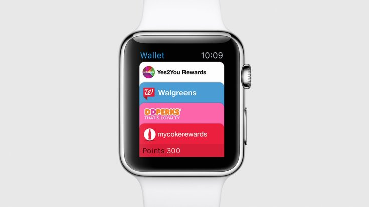 Apple Watch with Wallet app