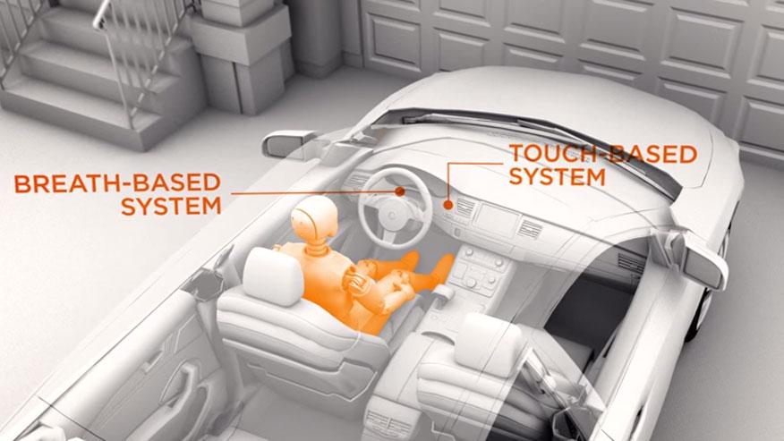 Anti-drunk driver car technology