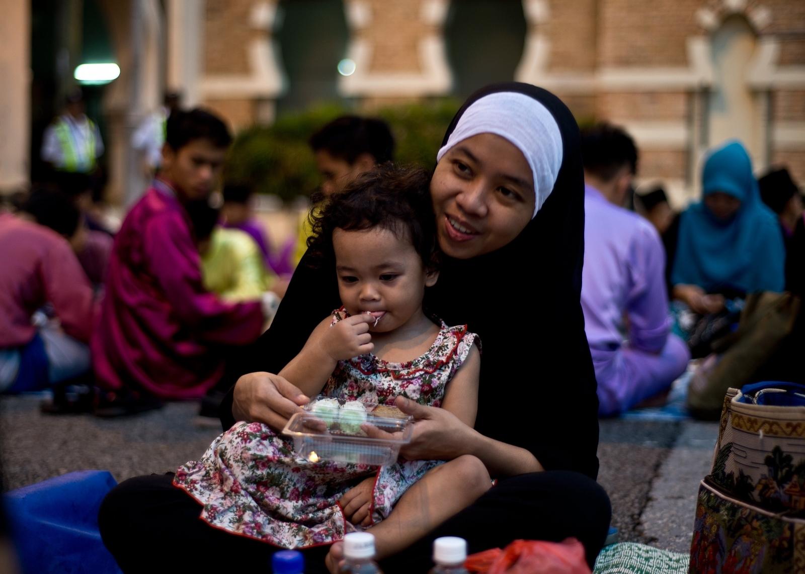 Ramadan woman child