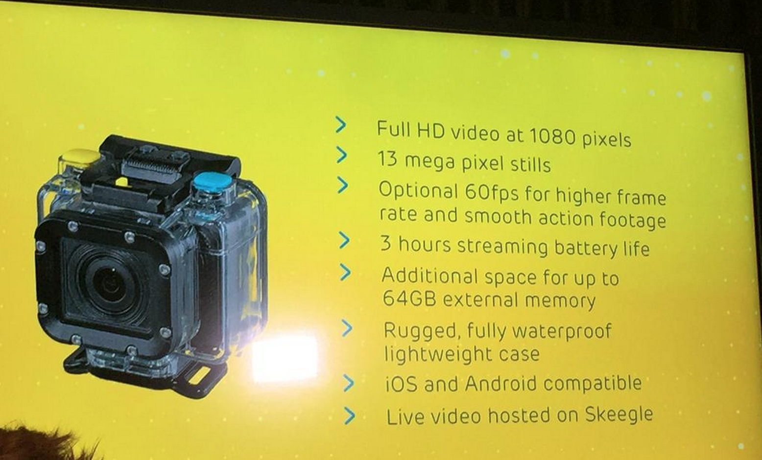 EE Action Camera takes on GoPro