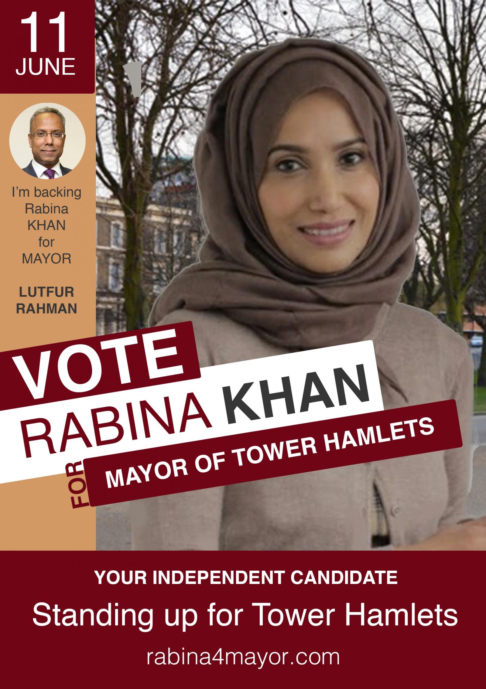 Rabina Khan Tower Hamlets