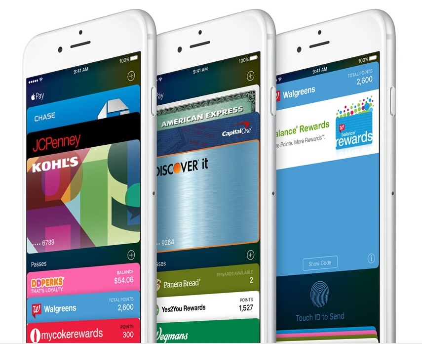 Apple iOS 9 Wallet app iPhone 6
