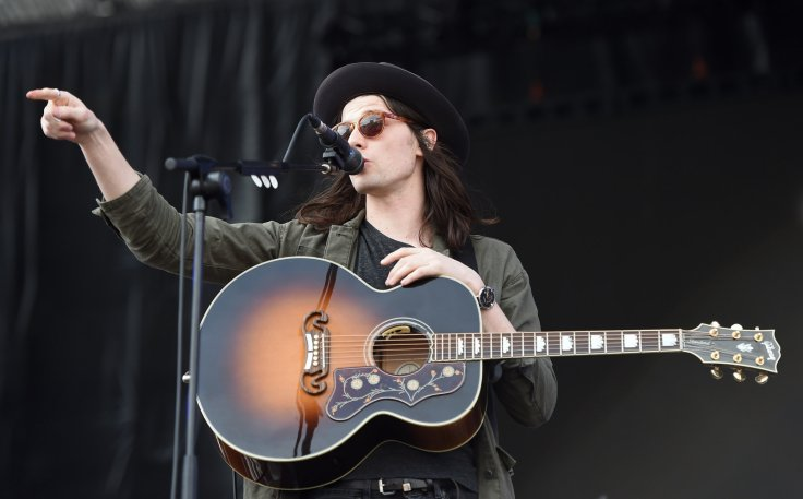 British singer James Bay