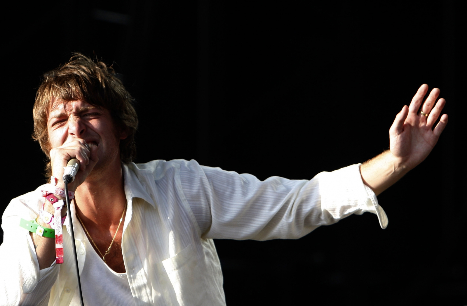 Paolo Nutini performing at Isle Of Wight