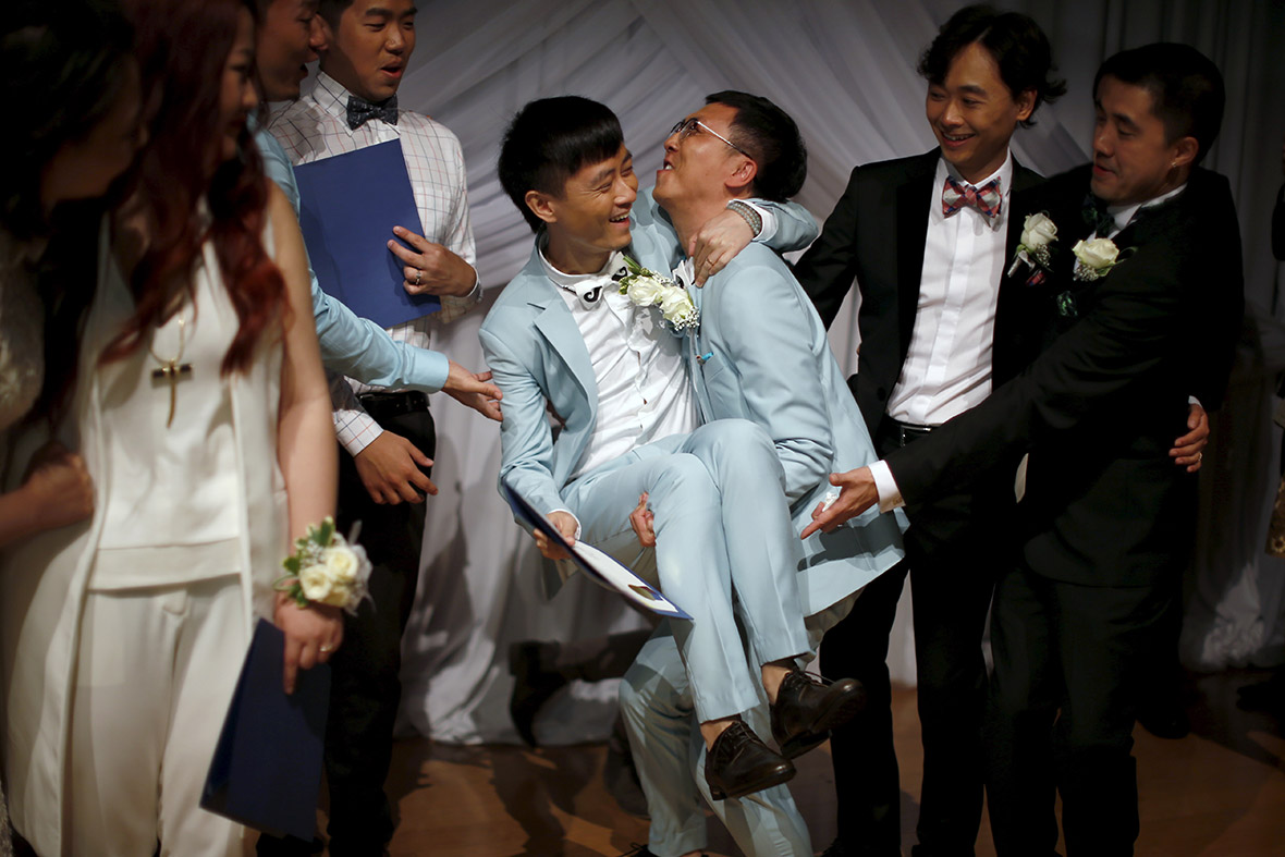 chinese gay wedding west hollywood