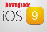 Downgrade iOS 9 Beta