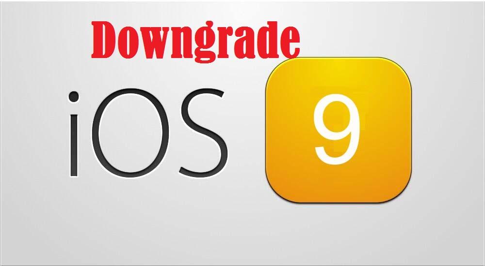 Downgrade iOS 9 Beta
