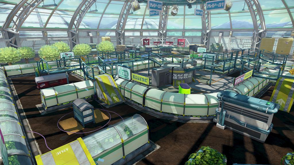 Splatoon Kelp Dome Map
