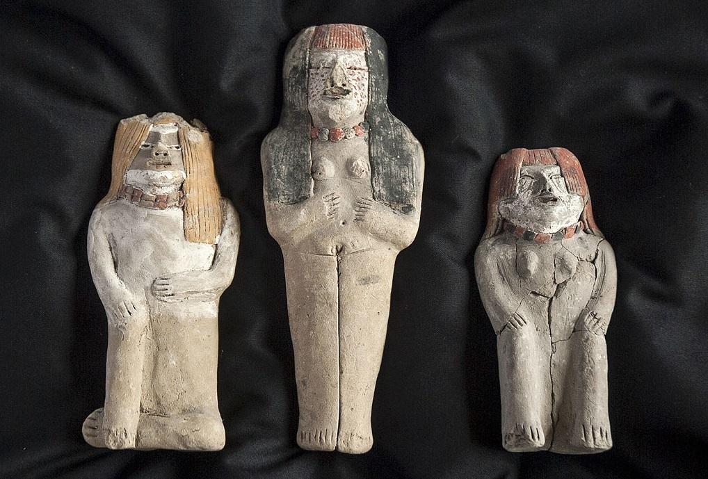 ancient caral civilisation statuettes