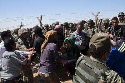 syrian refugees in Turkey