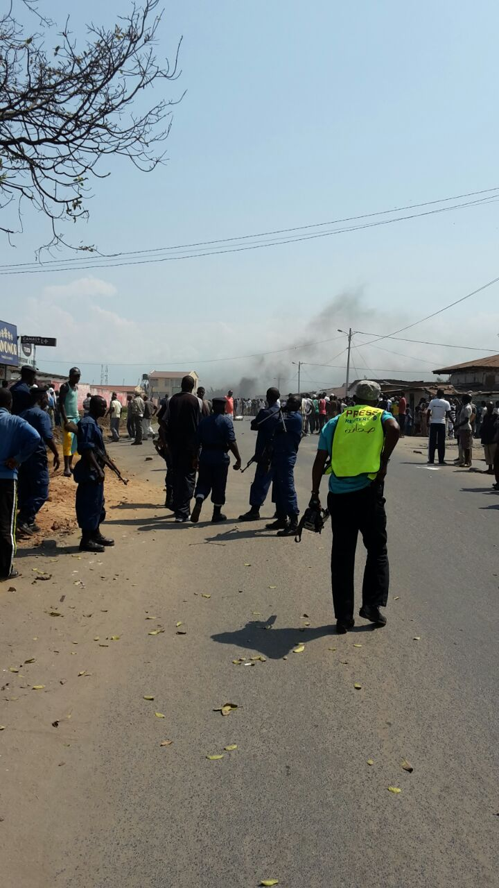 Burundi Buyenzi protest