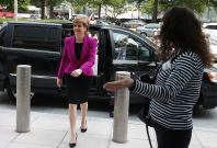 Nicola Sturgeon in Washington, DC