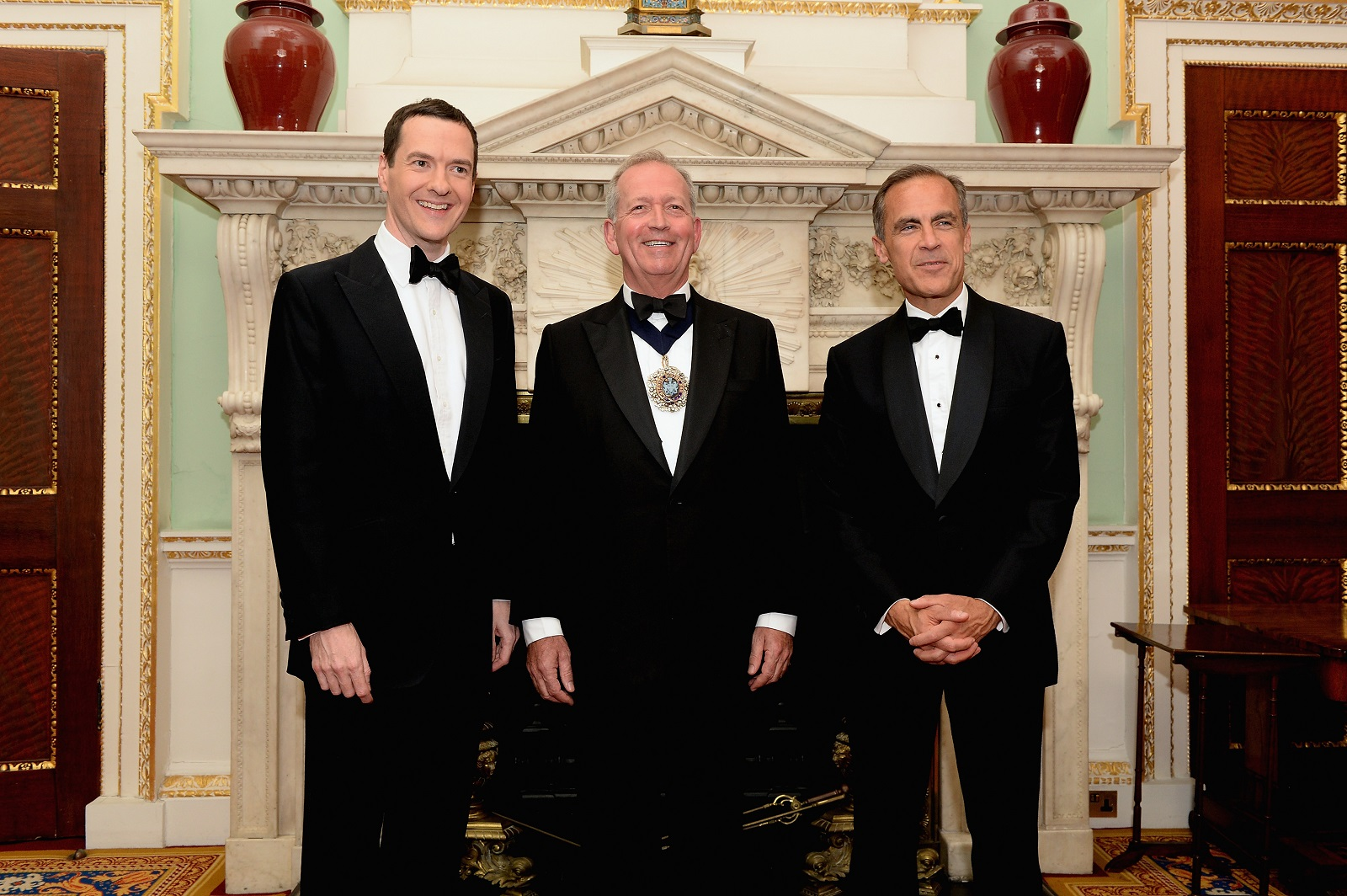 George Osborne at the Mansion House 2015