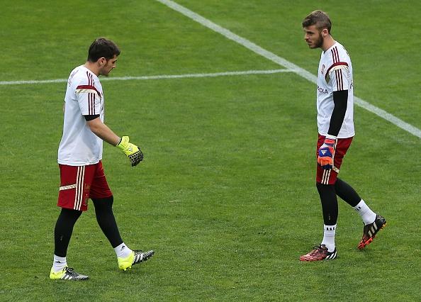 Iker Casillas-David De Gea