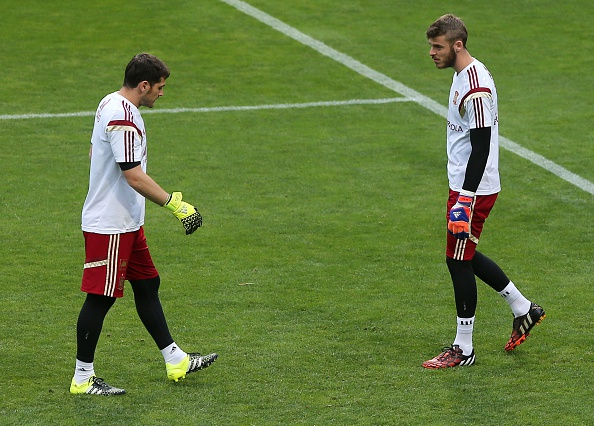 Iker Casillas-David De Gea
