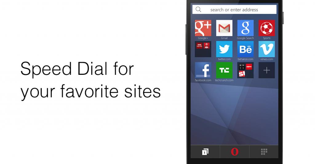 Opera Mini stable web browser