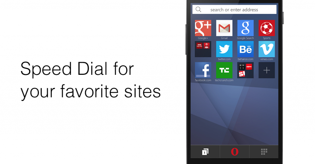 Opera Mini stable web browser
