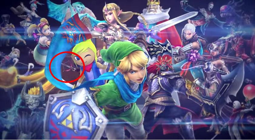 Hyrule Warriors 3DS Linkle Crossbow
