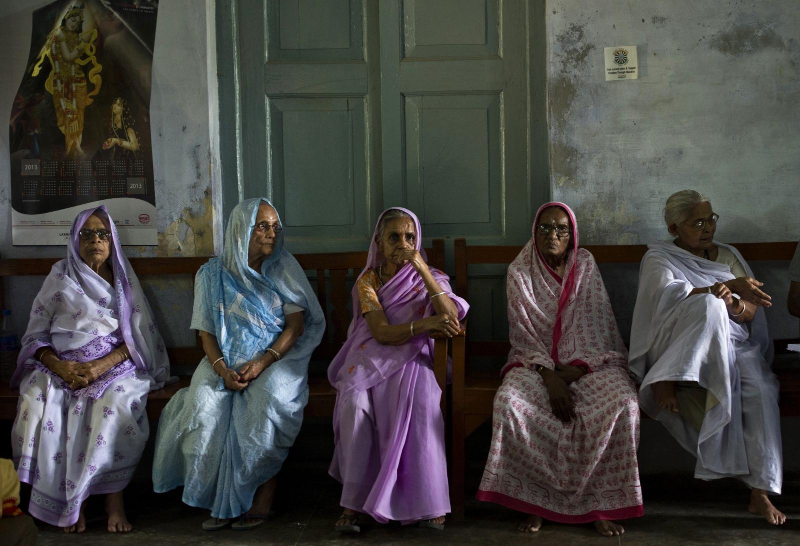 Varanasi widows