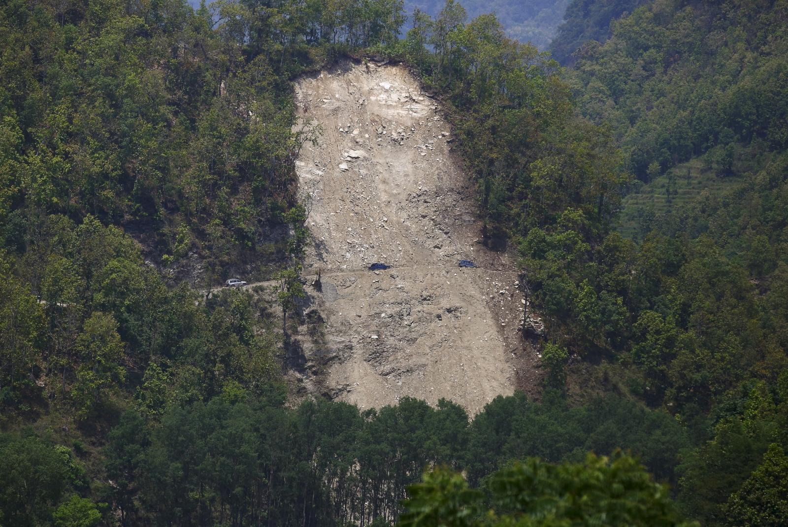 Nepal landslide