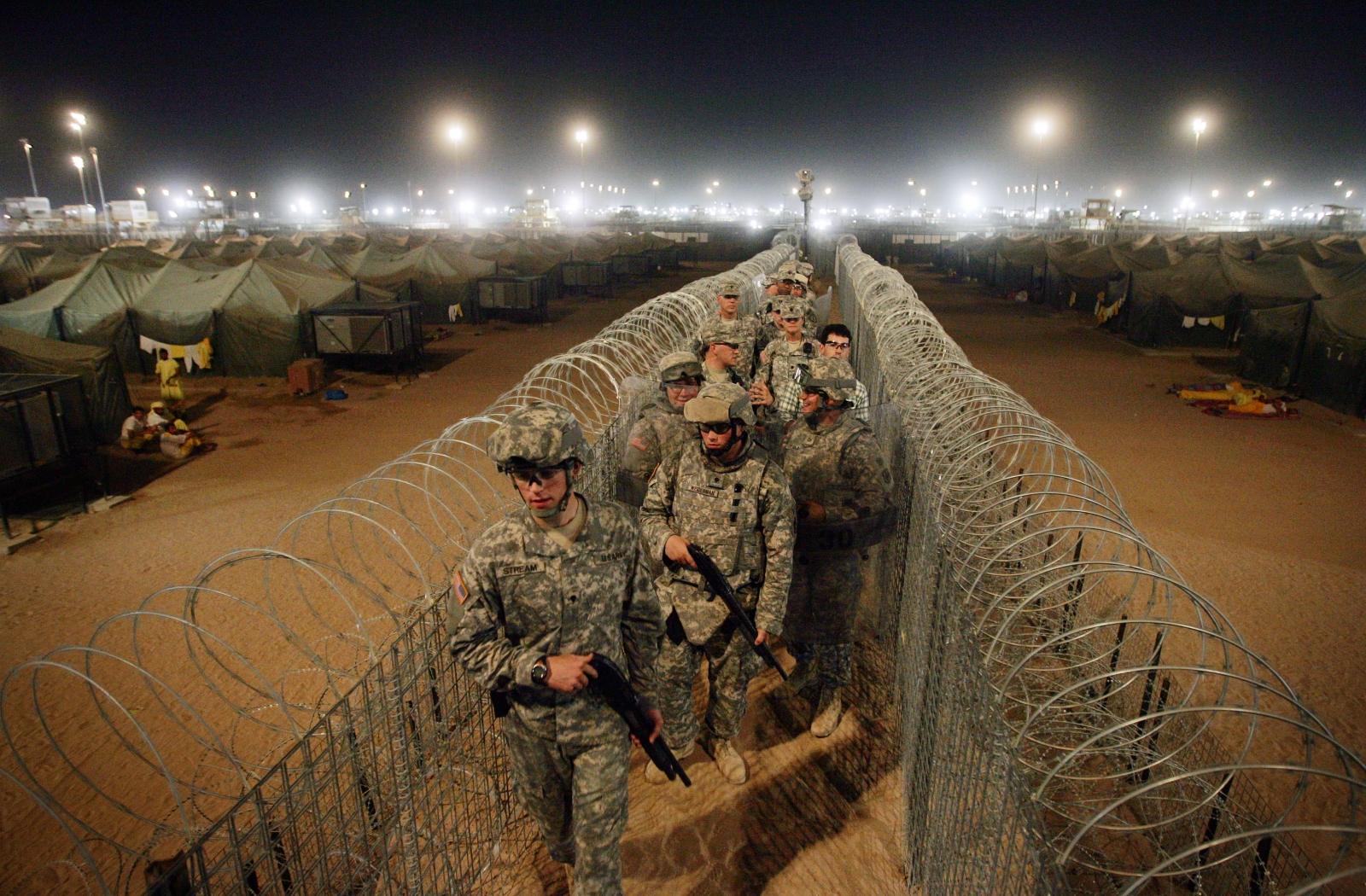 Camp Bucca, Iraq