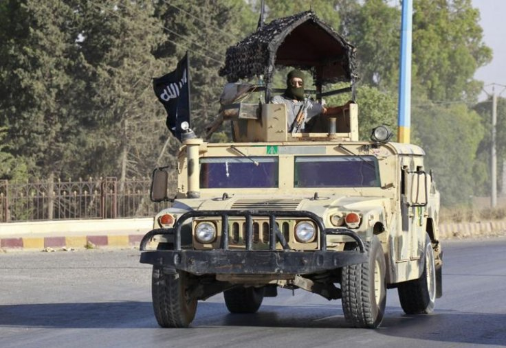Humvee seized by isis