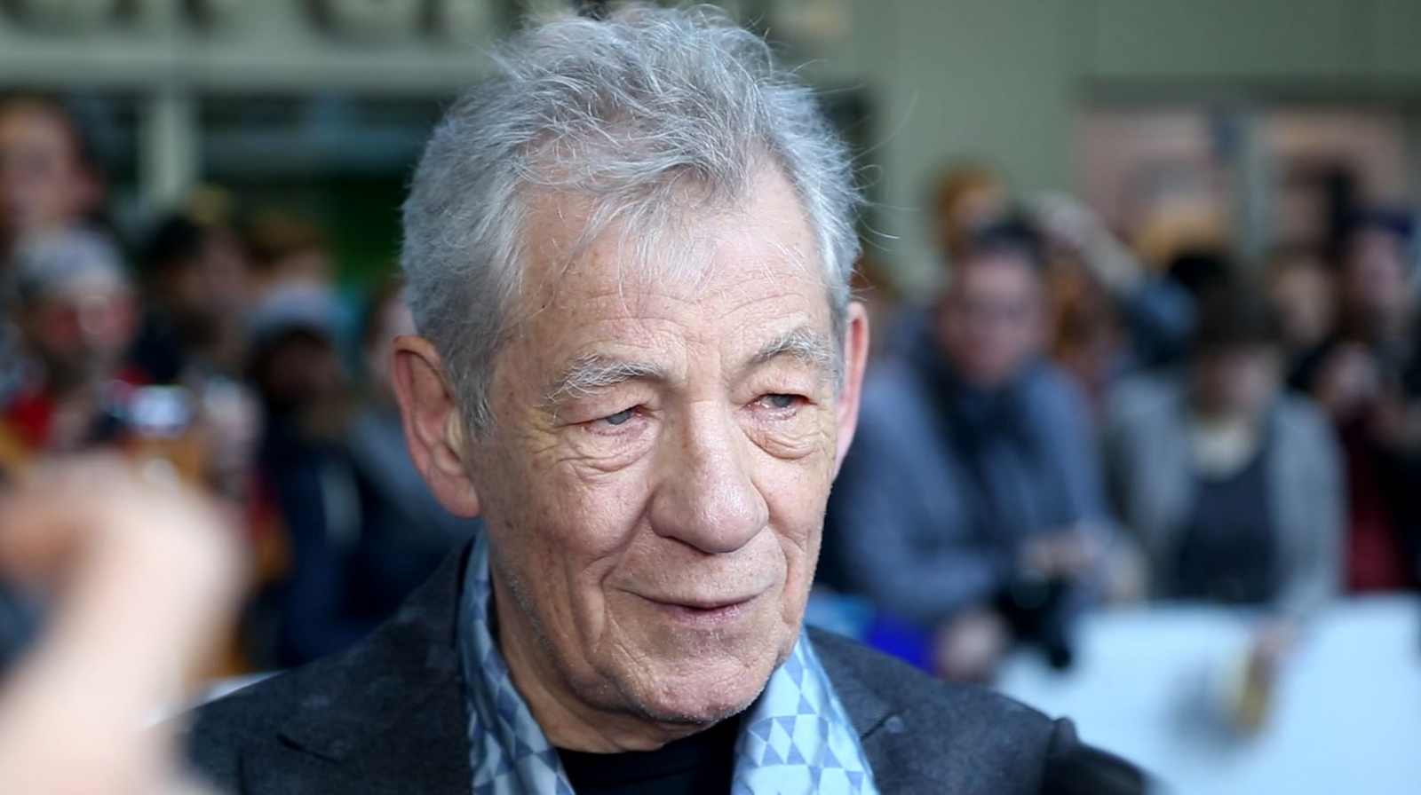 Ian McKellen at Mr. Holmes Premiere
