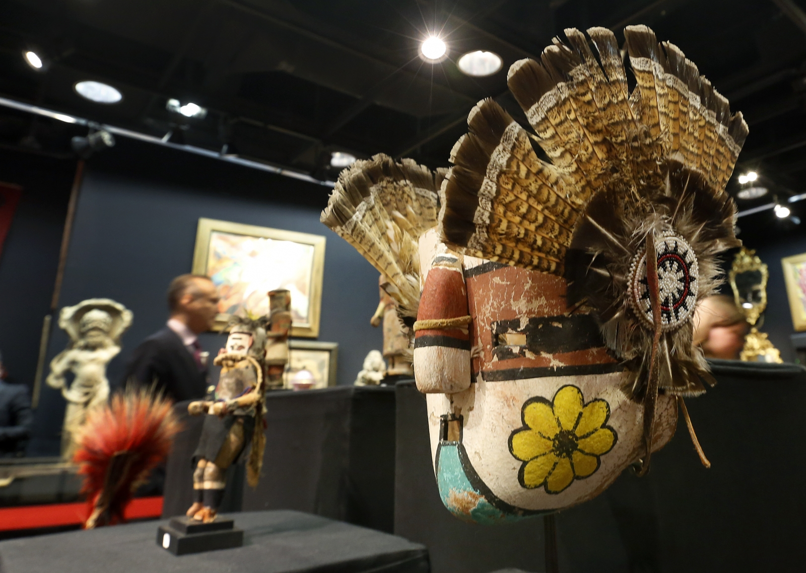 Hopi artifacts auctioned in Paris