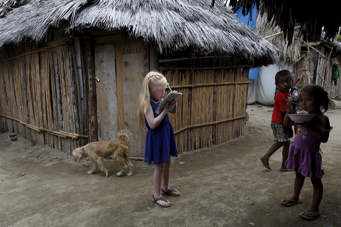 Panama: The islands home to hundreds of albinos who must ...