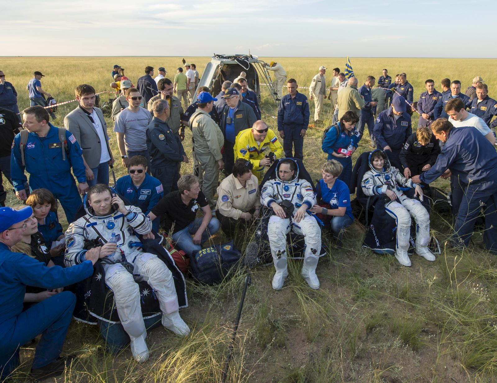 Kazakhstan astronauts ISS