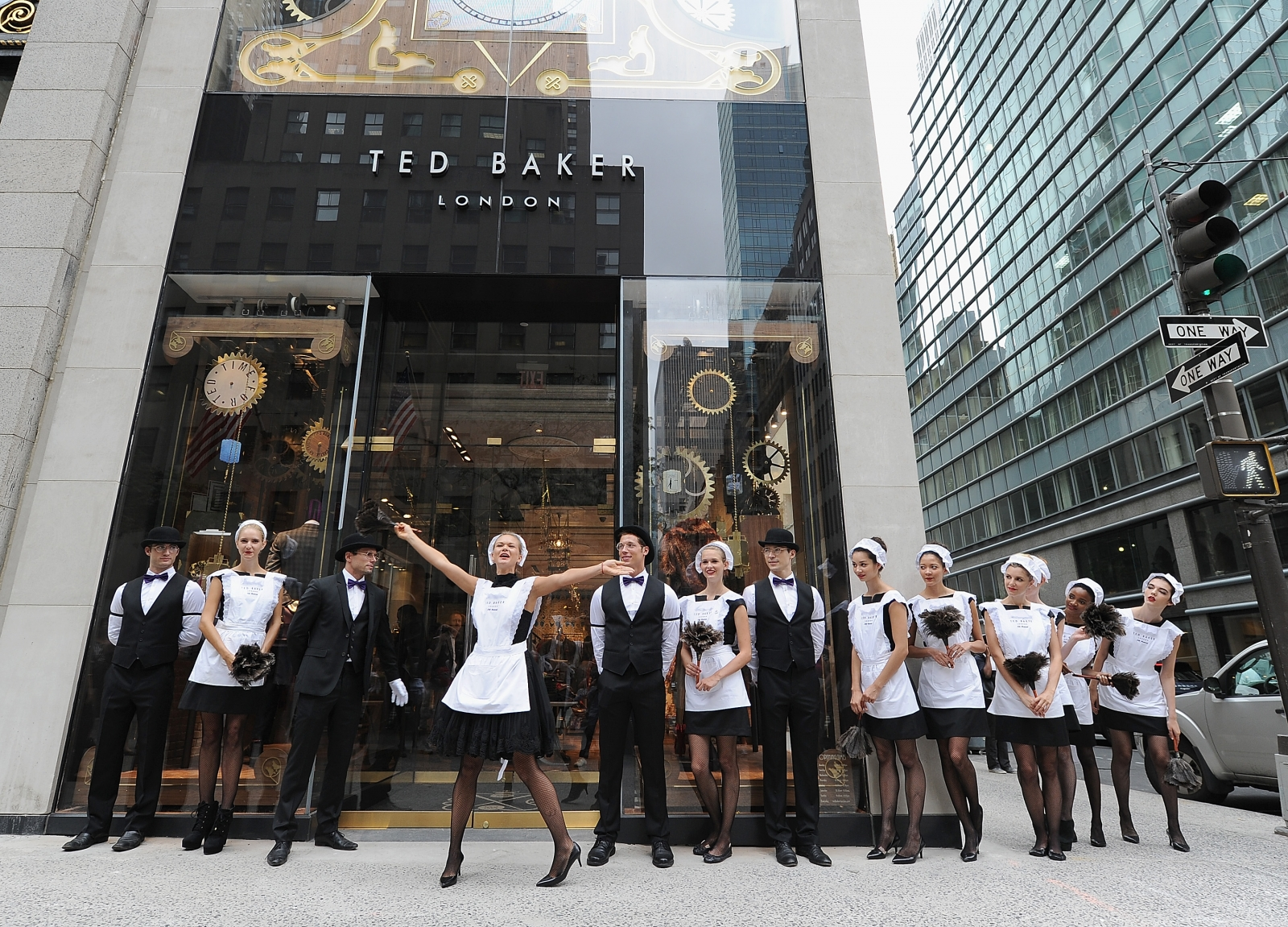 Ted Baker NYC store opening