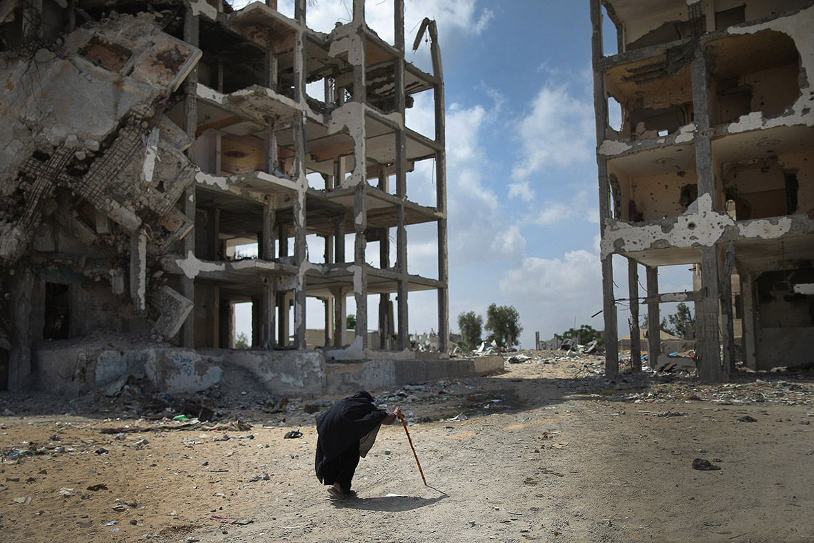 Gaza People Still Living In Bombed Ruins Almost A Year