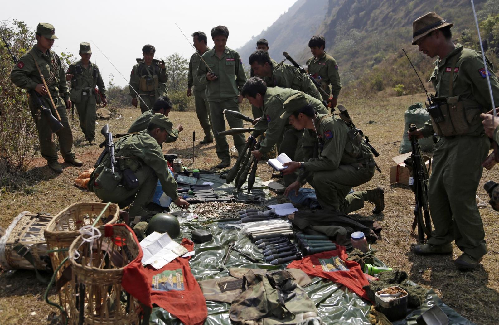 Myanmar rebels violence
